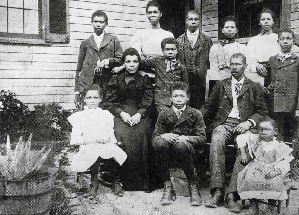 Early settlers of North Brentwood, Maryland