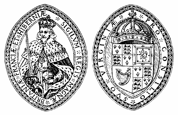 Seal of the King James I