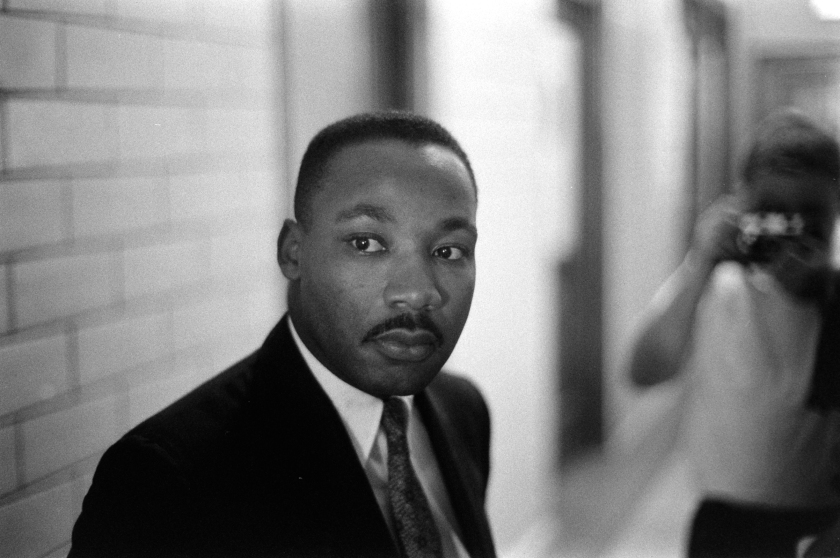 Martin Luther King, Jr. In Montgomery, Alabama