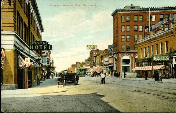 East St Louis postcard - Courtesy Andrew Theising - Southern Illinois University Edwardsville_0